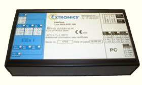 ATEX iSOLATE100 Intrinsically Safe Serial Interface